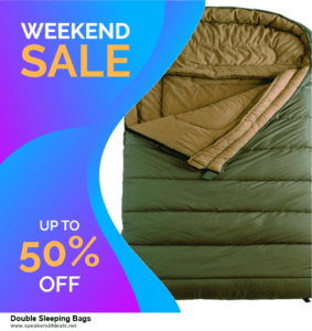 7 Best Double Sleeping Bags After Christmas Deals [Up to 30% Discount]