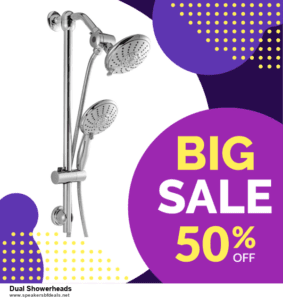 5 Best Dual Showerheads Black Friday 2020 and Cyber Monday Deals & Sales