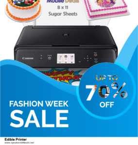 List of 10 Best Black Friday and Cyber Monday Edible Printer Deals 2020