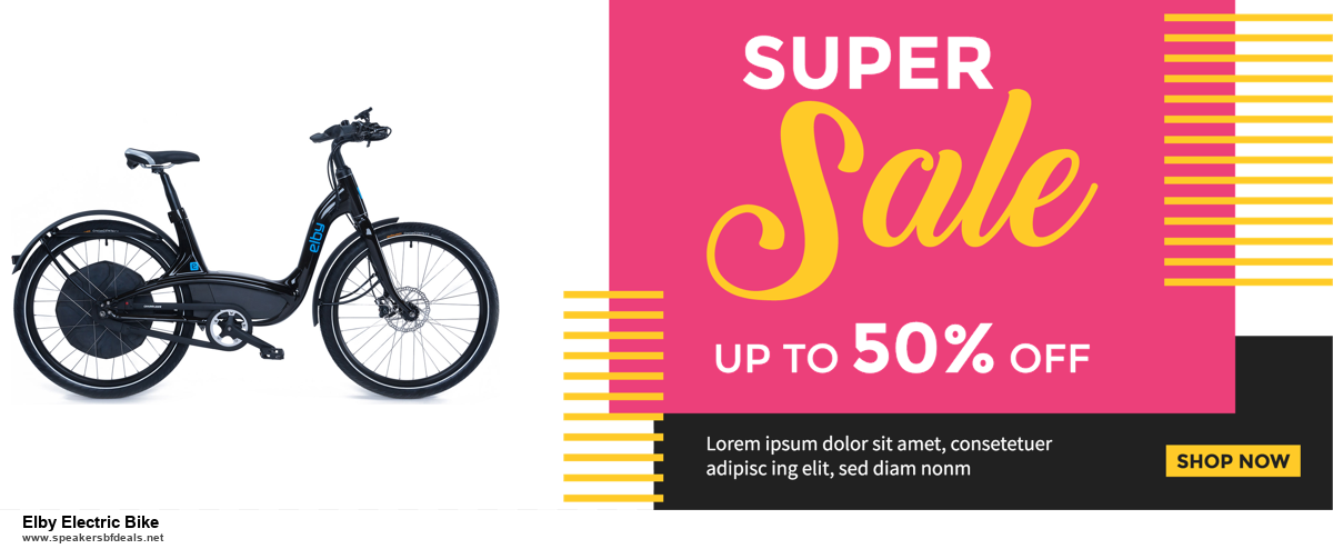 13 Best Black Friday and Cyber Monday 2020 Elby Electric Bike Deals [Up to 50% OFF]