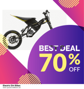 List of 10 Best Black Friday and Cyber Monday Electric Dirt Bikes Deals 2020