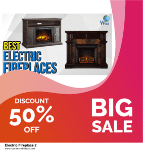 5 Best Electric Fireplace 2 After Christmas Deals & Sales