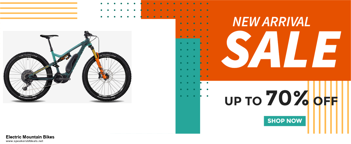 Grab 10 Best Black Friday and Cyber Monday Electric Mountain Bikes Deals & Sales