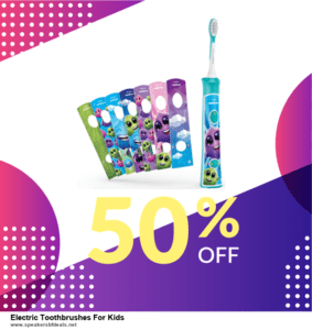 5 Best Electric Toothbrushes For Kids After Christmas Deals & Sales