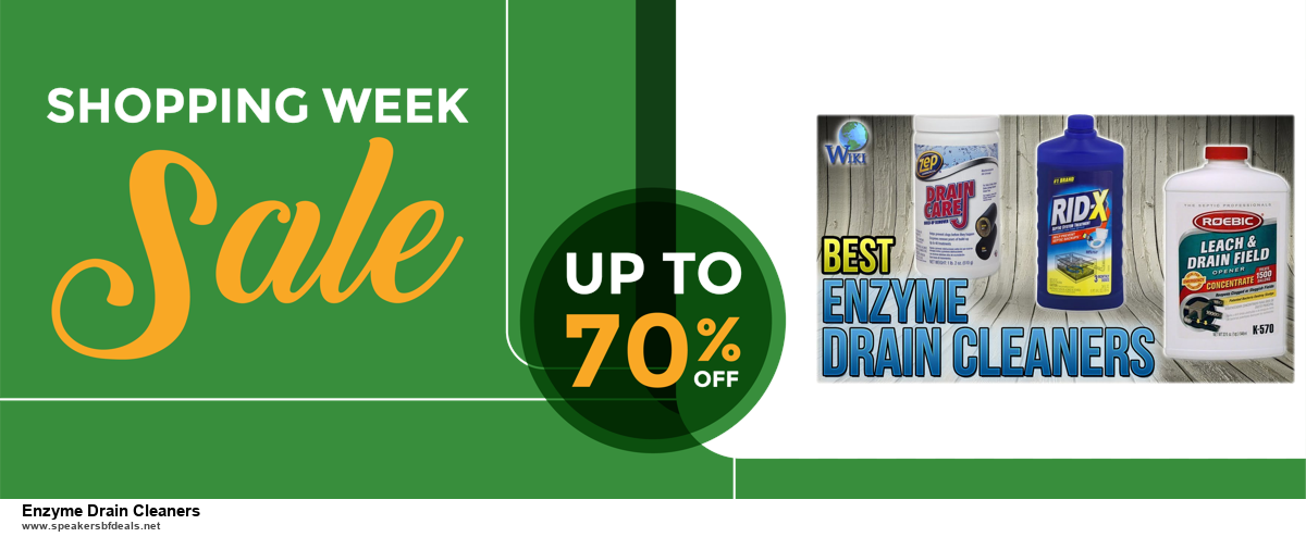 List of 6 Enzyme Drain Cleaners Black Friday 2020 and Cyber MondayDeals [Extra 50% Discount]