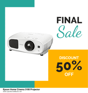 Grab 10 Best After Christmas Deals Epson Home Cinema 3100 Projector Deals & Sales