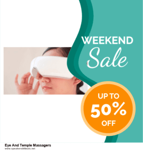 Top 5 After Christmas Deals Eye And Temple Massagers Deals [Grab Now]