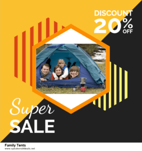 Grab 10 Best Black Friday and Cyber Monday Family Tents Deals & Sales