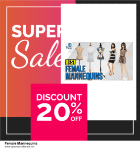13 Exclusive Black Friday and Cyber Monday Female Mannequins Deals 2020