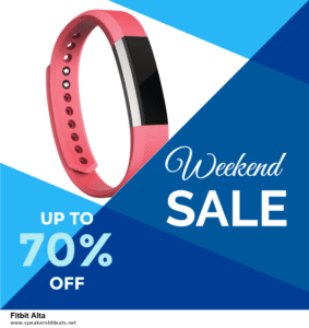 Top 10 Fitbit Alta Black Friday 2020 and Cyber Monday Deals