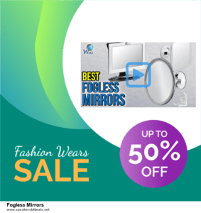 7 Best Fogless Mirrors After Christmas Deals [Up to 30% Discount]