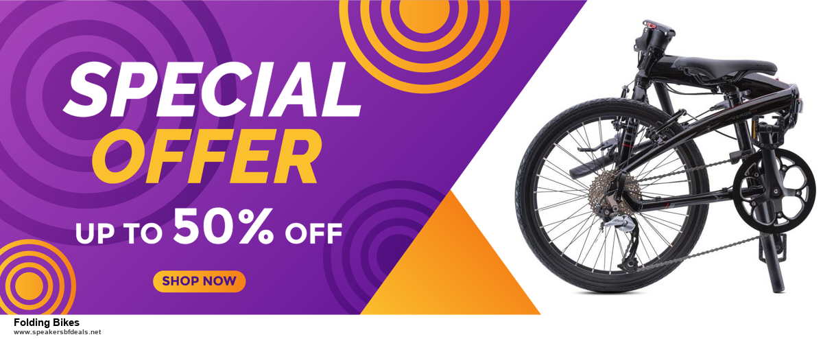 Top 10 Folding Bikes Black Friday 2020 and Cyber Monday Deals