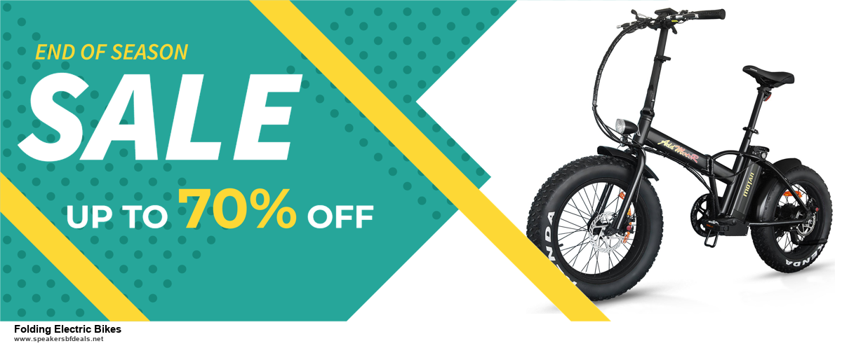 7 Best Folding Electric Bikes Black Friday 2020 and Cyber Monday Deals [Up to 30% Discount]