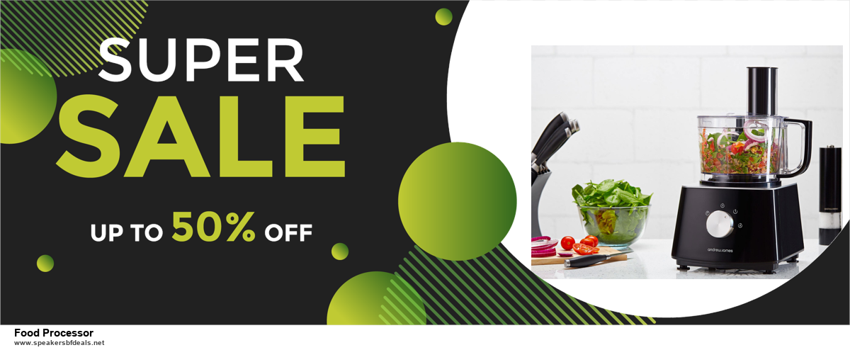 13 Exclusive Black Friday and Cyber Monday Food Processor Deals 2020