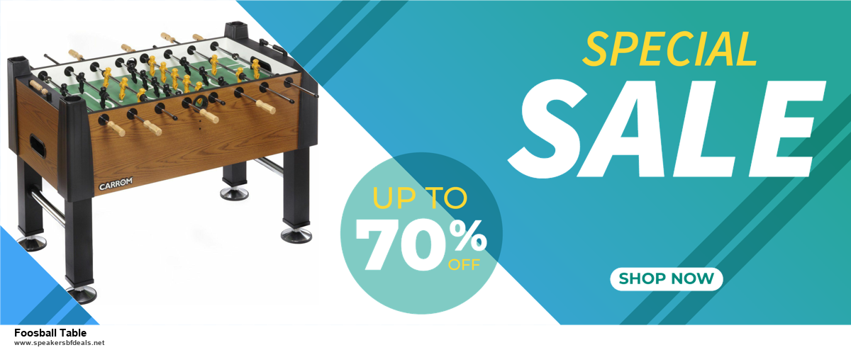 13 Exclusive Black Friday and Cyber Monday Foosball Table Deals 2020