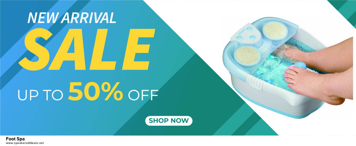 Grab 10 Best Black Friday and Cyber Monday Foot Spa Deals & Sales