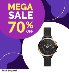 7 Best Fossil Smartwatch After Christmas Deals [Up to 30% Discount]