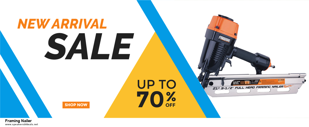 9 Best Black Friday and Cyber Monday Framing Nailer Deals 2020 [Up to 40% OFF]