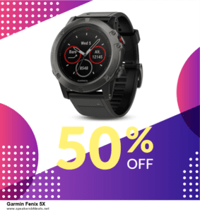 7 Best Garmin Fenix 5X Black Friday 2020 and Cyber Monday Deals [Up to 30% Discount]