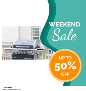 9 Best Black Friday and Cyber Monday Gas Grill Deals 2020 [Up to 40% OFF]