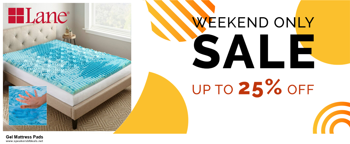 7 Best Gel Mattress Pads Black Friday 2020 and Cyber Monday Deals [Up to 30% Discount]