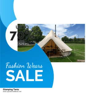 9 Best After Christmas Deals Glamping Tents Deals 2020 [Up to 40% OFF]