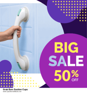 Top 5 After Christmas Deals Grab Bars Suction Cups Deals [Grab Now]