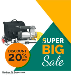 9 Best Black Friday and Cyber Monday Handheld Air Compressors Deals 2020 [Up to 40% OFF]