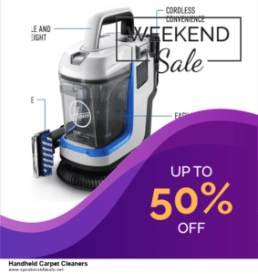 Grab 10 Best Black Friday and Cyber Monday Handheld Carpet Cleaners Deals & Sales