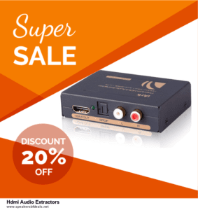 5 Best Hdmi Audio Extractors Black Friday 2020 and Cyber Monday Deals & Sales