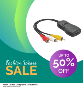 5 Best Hdmi To Rca Composite Converters After Christmas Deals & Sales