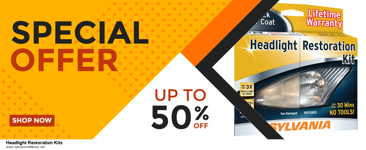 6 Best Headlight Restoration Kits Black Friday 2020 and Cyber Monday Deals   Huge Discount