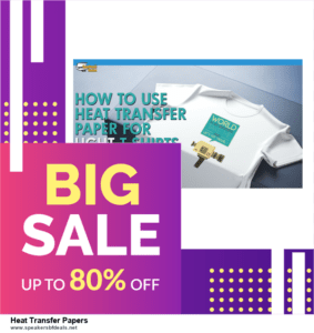 Top 10 Heat Transfer Papers After Christmas Deals