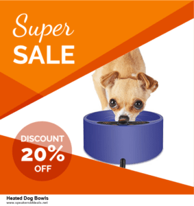 9 Best Heated Dog Bowls Black Friday 2020 and Cyber Monday Deals Sales