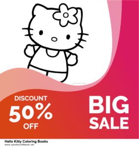 10 Best After Christmas Deals  Hello Kitty Coloring Books Deals | 40% OFF