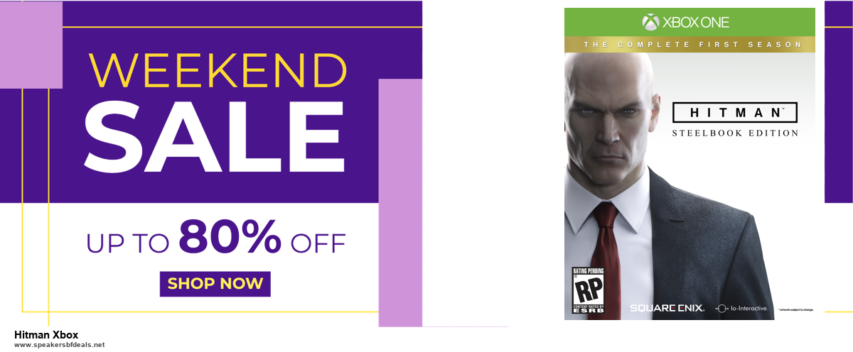 List of 10 Best Black Friday and Cyber Monday Hitman Xbox Deals 2020