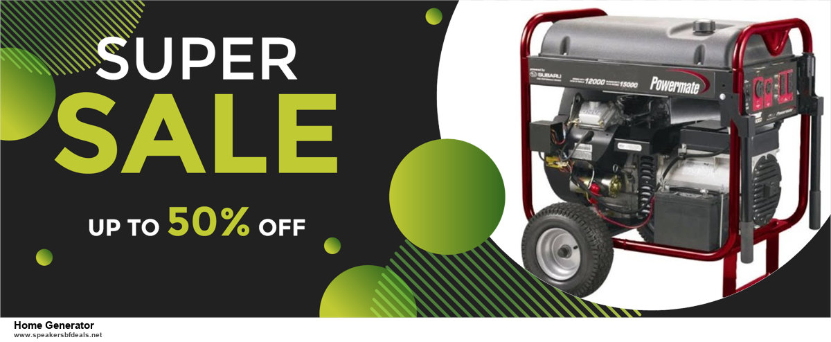 List of 6 Home Generator Black Friday 2020 and Cyber MondayDeals [Extra 50% Discount]