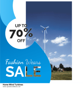 9 Best After Christmas Deals Home Wind Turbines Deals 2020 [Up to 40% OFF]