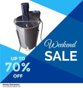 13 Best Black Friday and Cyber Monday 2020 Honey Extractors Deals [Up to 50% OFF]