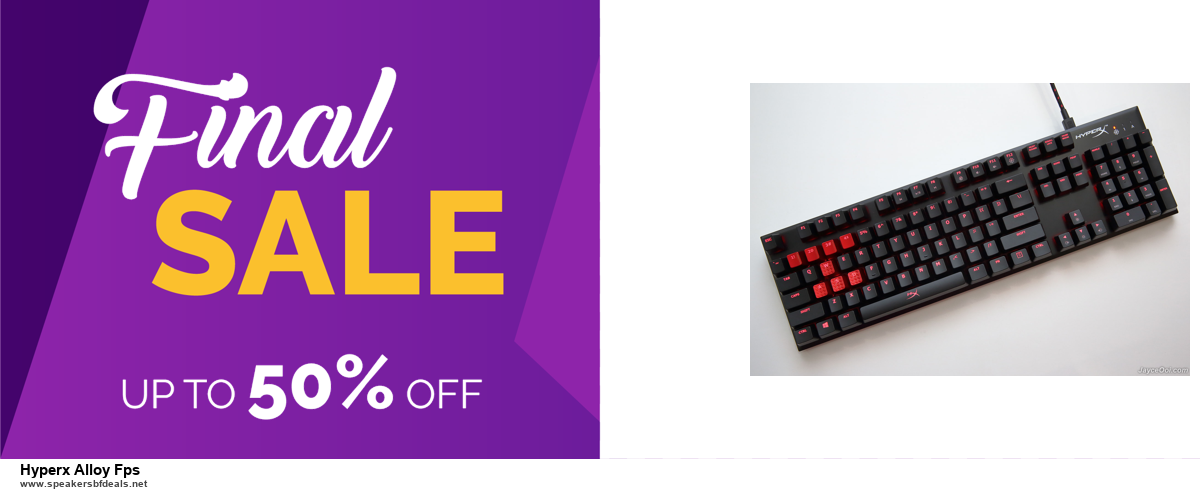 9 Best Black Friday and Cyber Monday Hyperx Alloy Fps Deals 2020 [Up to 40% OFF]