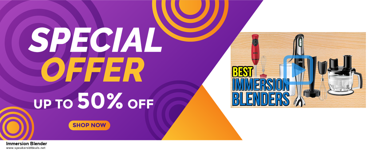 13 Exclusive Black Friday and Cyber Monday Immersion Blender Deals 2020