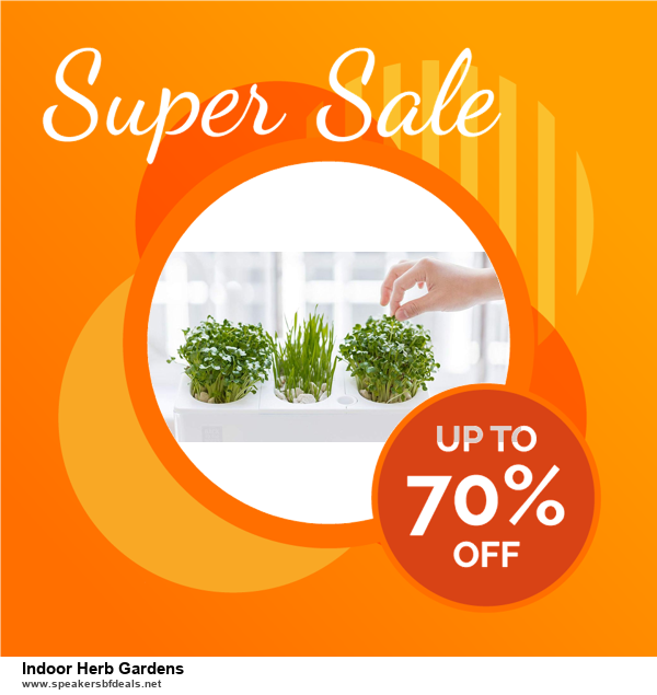 List of 10 Best Black Friday and Cyber Monday Indoor Herb Gardens Deals 2020