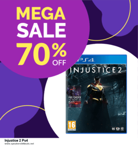Top 5 Black Friday 2020 and Cyber Monday Injustice 2 Ps4 Deals [Grab Now]