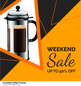 List of 10 Best Black Friday and Cyber Monday Insulated Coffee Presses Deals 2020