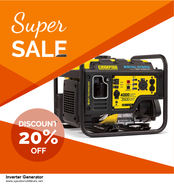 13 Exclusive Black Friday and Cyber Monday Inverter Generator Deals 2020