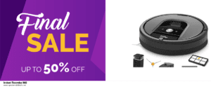 10 Best Irobot Roomba 960 Black Friday 2020 and Cyber Monday Deals Discount Coupons