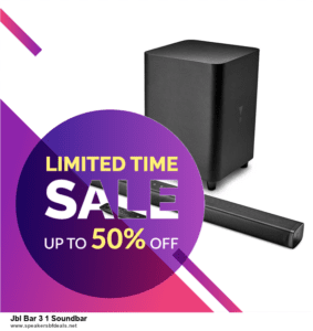 9 Best Black Friday and Cyber Monday Jbl Bar 3 1 Soundbar Deals 2020 [Up to 40% OFF]