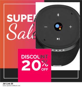 List of 6 Jbl Link 20 Black Friday 2020 and Cyber MondayDeals [Extra 50% Discount]