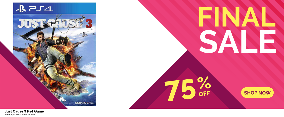 10 Best Just Cause 3 Ps4 Game Black Friday 2020 and Cyber Monday Deals Discount Coupons