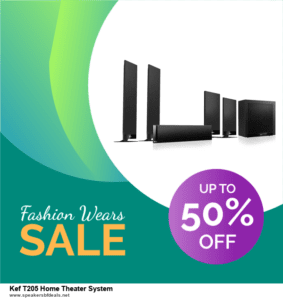 List of 10 Best Black Friday and Cyber Monday Kef T205 Home Theater System Deals 2020
